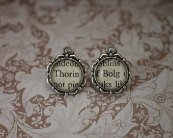 Thorin ~ Bolg Earrings ~ The Hobbit ~ The Lord Of The Rings ~ J.R.R Tolkien ~