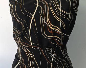 Black Crepe printed 3metres color velvety soft touch matte and opaque 116