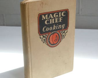 Magic Chef Cookbook / Vintage Recipes for Success using your Magic Chef Stove / Small Sized / Red Knob Manual