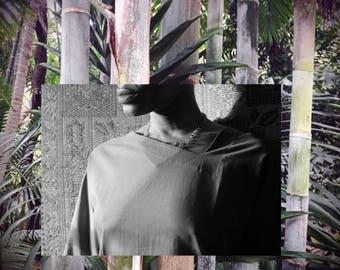ANIL Asymmetrical Neckline Tunic // South Indian Cotton