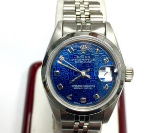 ROLEX Oyster Perpetual  DATEJUST Stainless Steel Ladies Watch