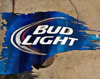 2ft Bud Light Flag