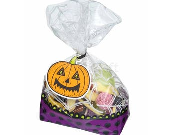 Halloween - Set of 30 bags candy bags
