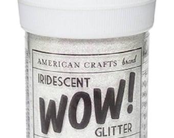 Glitter glitter WOW IRIDESCENT - WHITE color