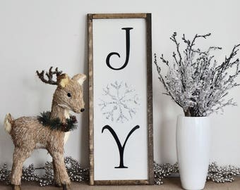 Joy Farmhouse Sign