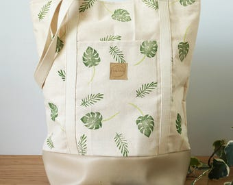 The perfect leaves tropical Joannie swell X bag