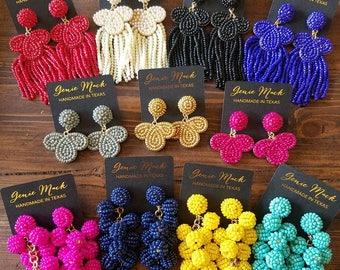 Genie Mack Collection: Beaded Earrings