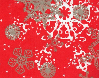 Red Themed Decopatch DECOUPAGE TISSUE PAPER Pad x 48 Sheets, Brand New