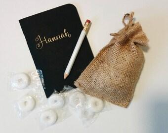 Custom Mini Journals // Bridesmaid Gift // Christmas Gift // Hostess Gift