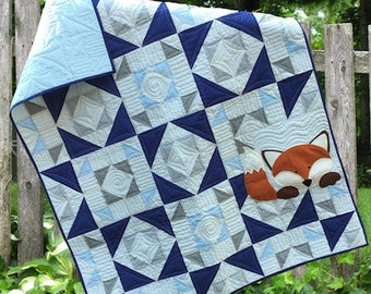 Little Fox Downloadable Quilt Pattern