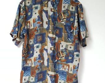Vintage Multi Patterned Shirt
