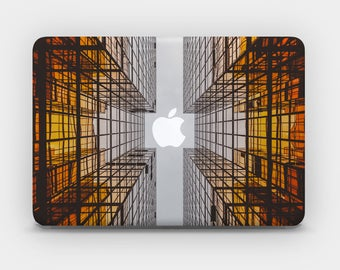 Transparent MacBook Skin MacBook Sticker MacBook Decal Laptop Skin  MacBook Air  MacBook Pro  – Architectural Lines