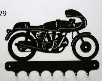 Hangs 26 cm pattern metal keys: 750 SS Ducati motorcycle