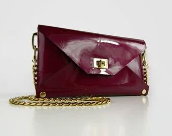 Leather Shoulder Bag, crossbody bag, leather purse