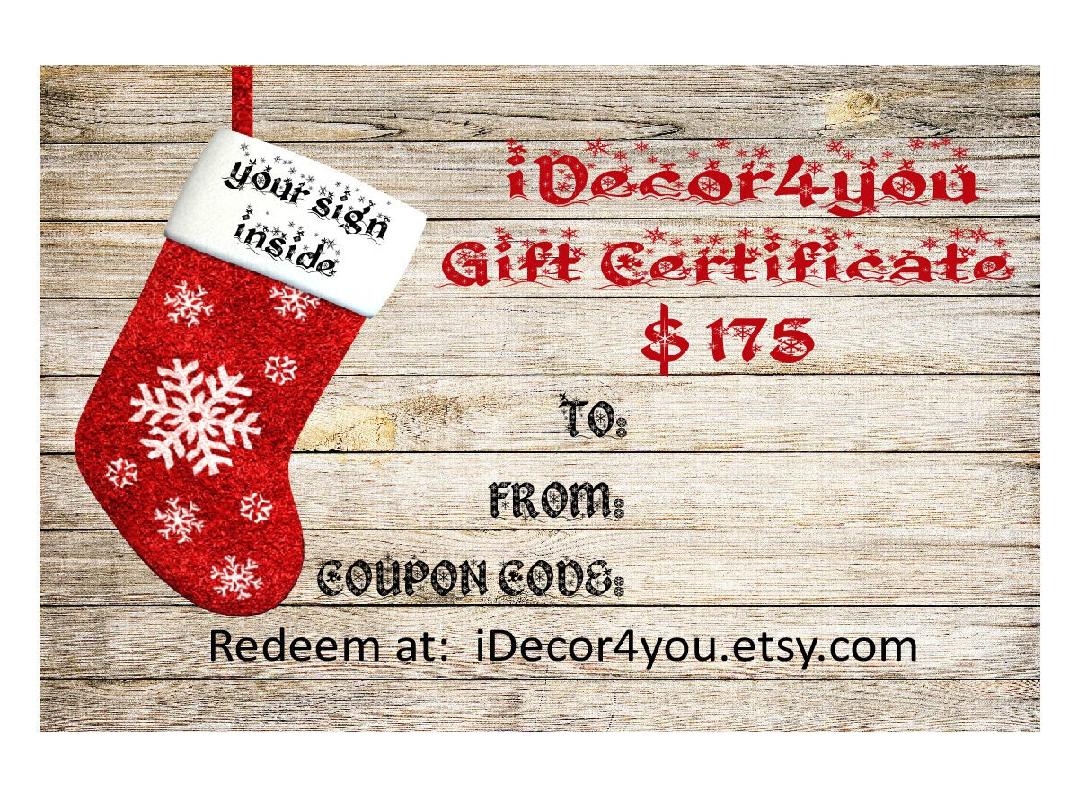 Last minute gift certificate printable digital christmas gifts last minute gift certificate printable digital christmas gifts card for her gifts for co workers easy christmas cards xflitez Gallery