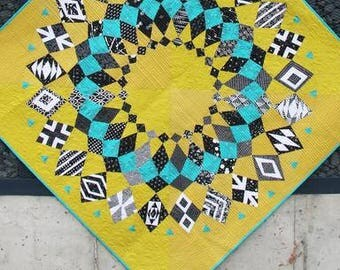 Cadence Court quilt pattern by Sassafras Lane Designs