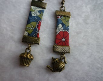 Tea & Liberty Cupcake earrings