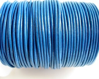 4 m leather 1.5 mm blue quality sup