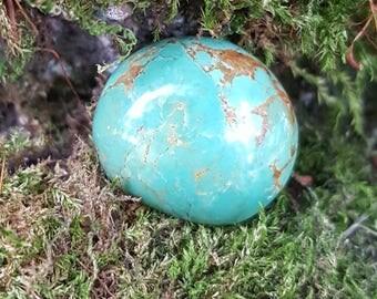 Semi-circle Turquoise Handmade Cabochon
