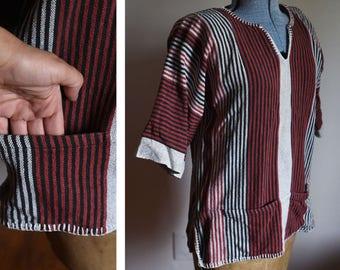 Small / Medium - Vintage Mexican Shirt - Tunic