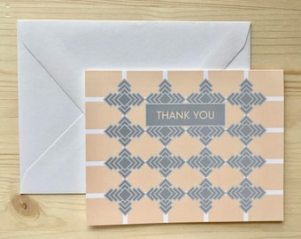 Be squared Out Thank You Card