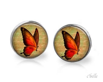 Earrings Butterfly 14