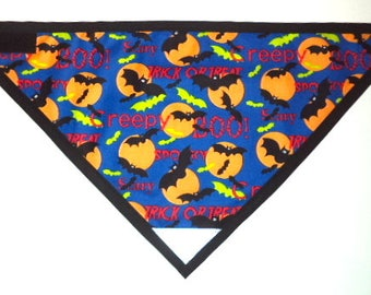 BATS Dog Bandana - Reflective Patch and VELCRO® Brand Fastener