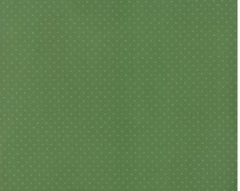 Provencal by Sand Klop of American Jane for Moda Green Pindot 21098 128