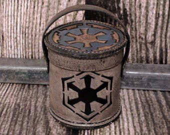 Star Wars Dice Cup, Dark side with logos of Sith and Empire