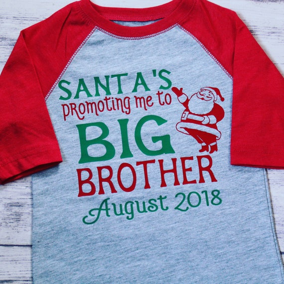 promoted to big brother shirt big brother announcement shirt soon to be big brother shirt pregnancy announcement big brother shirt