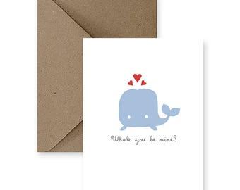Valentinstag Karte, Süße Liebe Karte, Lustige Liebeskarte, Karte Für Ihn,  Karte