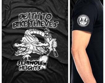 Death To Bike Thieves Seminole Heights