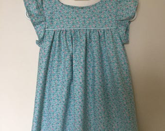 your turquoise girl dress