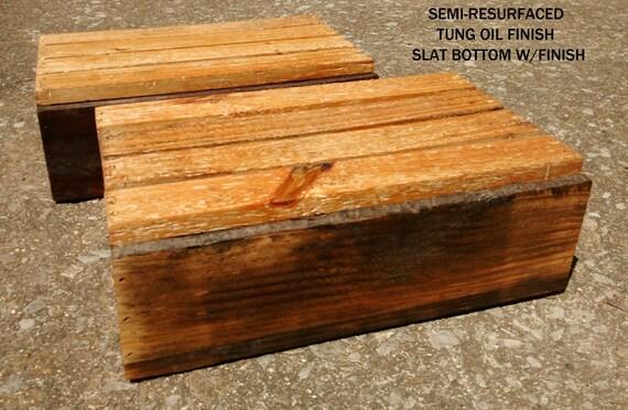 "Reclaimed Wood Box, 12"" x 8"", planter box, wood crate, wall shelf, centerpiece, repurposed wood box, wood storage box, decorative box"