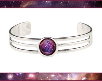 Galaxy bangle with Valentines Card