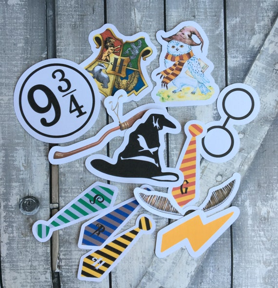 Harry Potter Die Cuts,Harry Potter Birthday Party Decorations,Harry Potter Party,Hogwarts Party,Harry Potter Card Making and Scrapbooking
