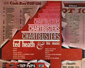 Vintage Vinyl Ted Heath 'ChartBusters'