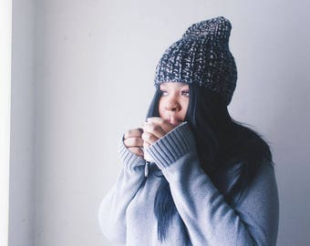 vegan chunky knit hat | Cloudsy hat