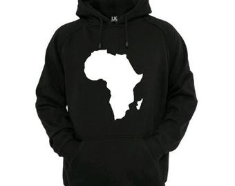 africa map jumper