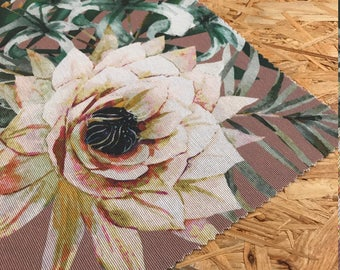 Tropical Home Decor Tropical Fabric Rose Pink Pink Fabric Curtain Fabric