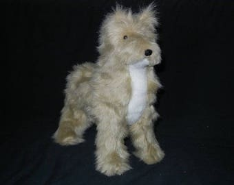 Max the dog in synthetic fur