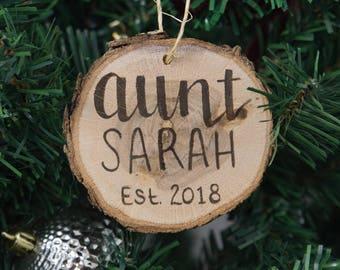 Aunt ornament  Etsy