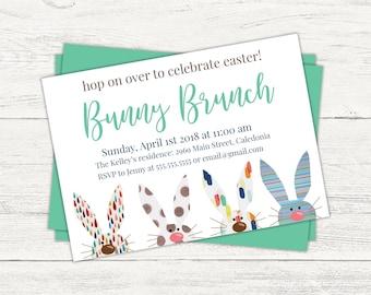 Easter Bunny Brunch invitation