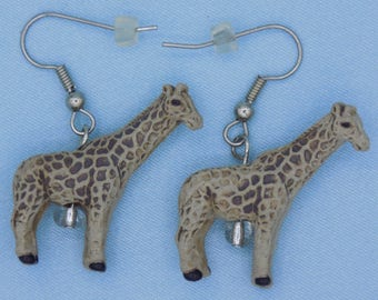 Giraffe Earrings (3 Styles)