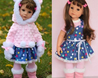 5pcs. Gotz doll clothes