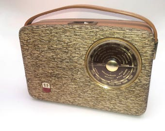 VINTAGE BLUETOOTH SPEAKER Original 1964 E.A.R Radio Converted to a Bluetooth Speaker!