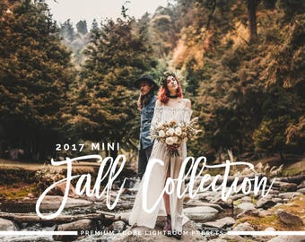 2017 MINI Fall Adobe Lightroom Preset Collection - Presets and Brushes