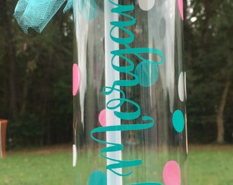 Personalized Dancer Water Bottle