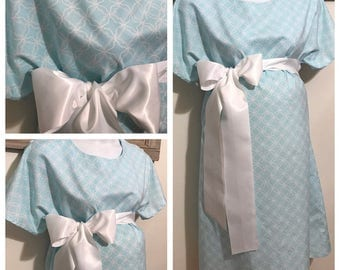 READY TO SHIP!! maternity hospital gown !!