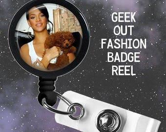 ON VACAY SALE Ships 7/24 Rihanna Badge Reel